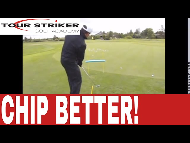 Improve Your Chipping with this Under The Hurdle Drill | Tour Striker Golf