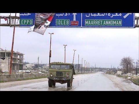 В Сирии открылась важная для страны трасса Дамаск - Алеппо.