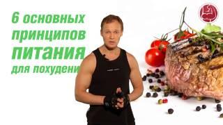 6 основных принципов питания для похудения