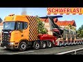 Ein FLUGZEUG wird mit dem LKW transportiert   ETS 2 Schwerlast deutsch #19