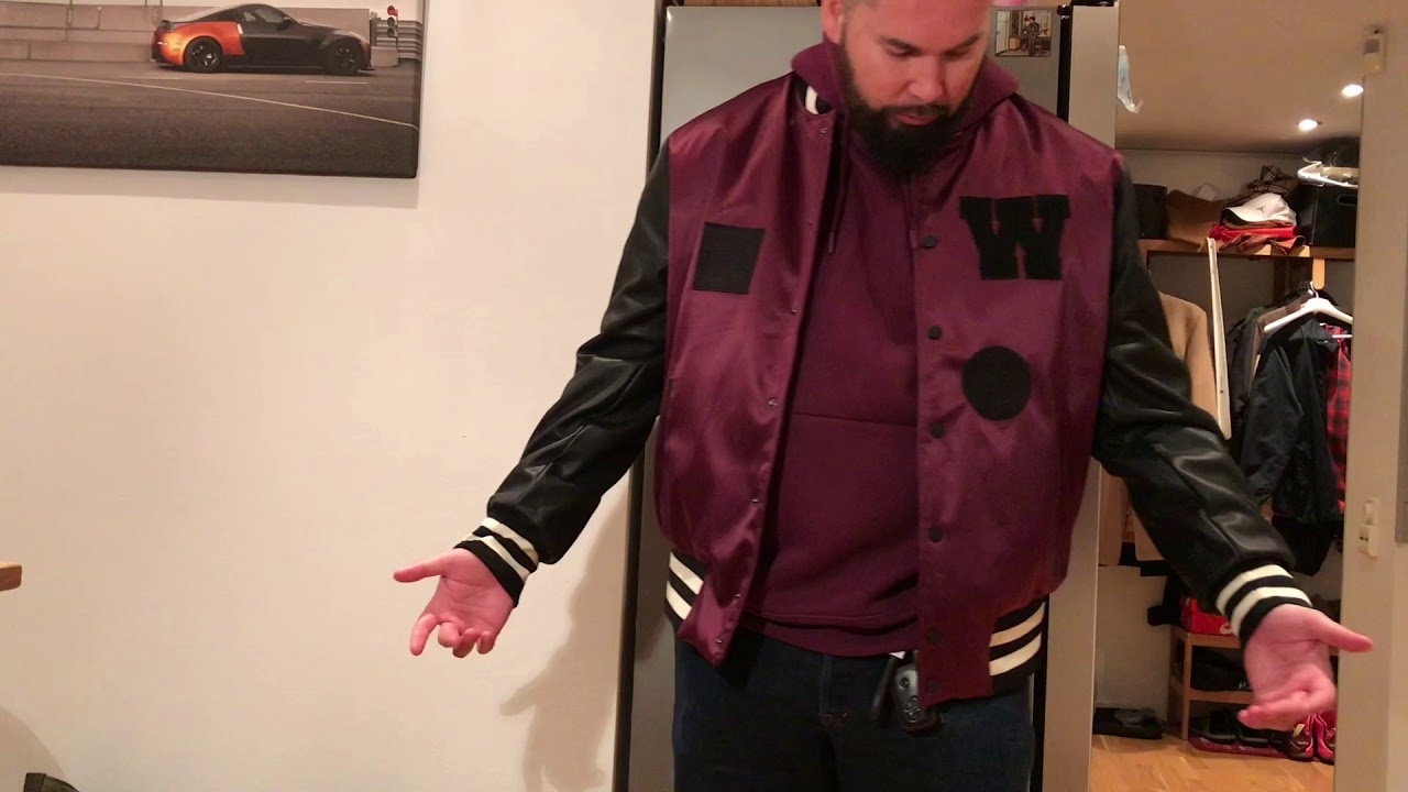 H&M presents THE WEEKND COLLECTION - Padded Baseball Jacket ...