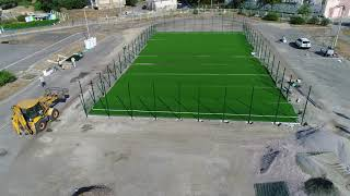 Qwadra studio Строительство стадиона Поздняки