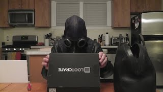 "Loot Crate ""Villains"" Unboxing with Dr. Corvus D. Clemmons ASMR Plague Doctor"