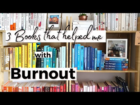 3 Books that Helped me with Burnout | My Experience with Burnout!