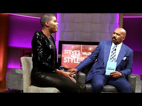 EJ Johnson: You are just like my dad  STEVE HARVEY