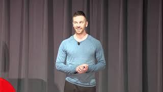The Simple Yoga Technique to Embrace Difficult Change   Dan Edelston   TEDxStonehillCollege