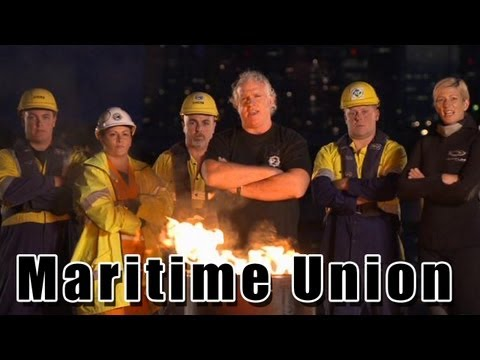 Maritime Union Of Australia  - Organise, Unite, Fight!