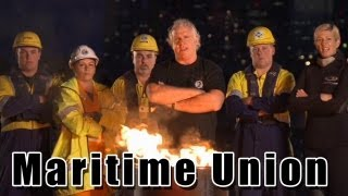 Maritime Union Of Australia  - Organise, Unite, Fight!