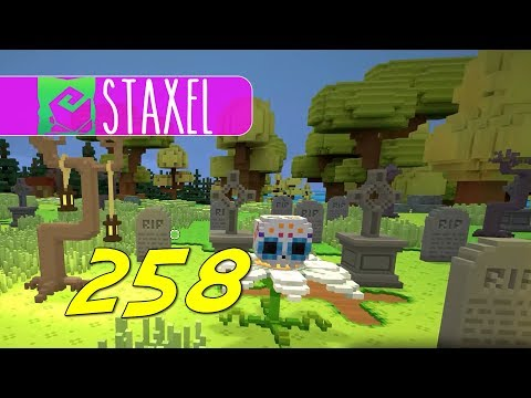 Staxel - Let's Play Ep 258 - GRAVES FOR SALE |