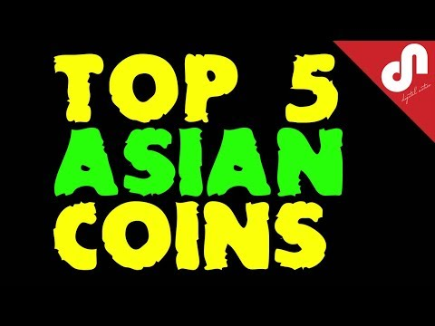 ⭐️ Top 5 Asian Origin Altcoins for 2018 | Top 5 Crypto Videos | Best Picks 🚀