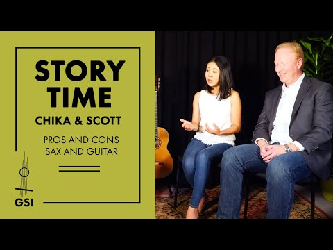 "GSI ""Story Time"": Chika and Scott - Challenges of combining guitar and sax, amplification and more"