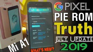 Mi A1 July Update Truth Pie Rom Mi A1 Andorid Q Beta 🔥 Whats New