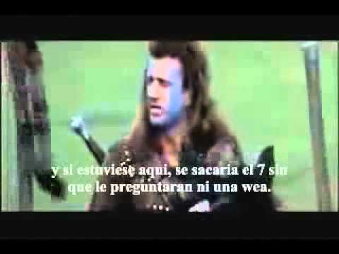 Discurso de William Wallace antes de dar un Examen de Derecho