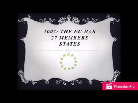 2007 : the EU has 27 member states