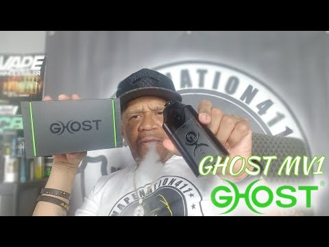 THE GHOST VAPES MV1 VAPORIZER