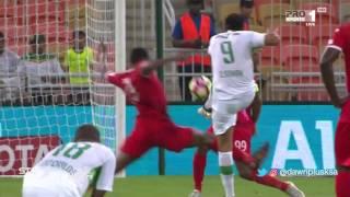 هدف الأهلي الأول ضد الوحدة (عمر السومة) في الجولة 8 من دوري جميل