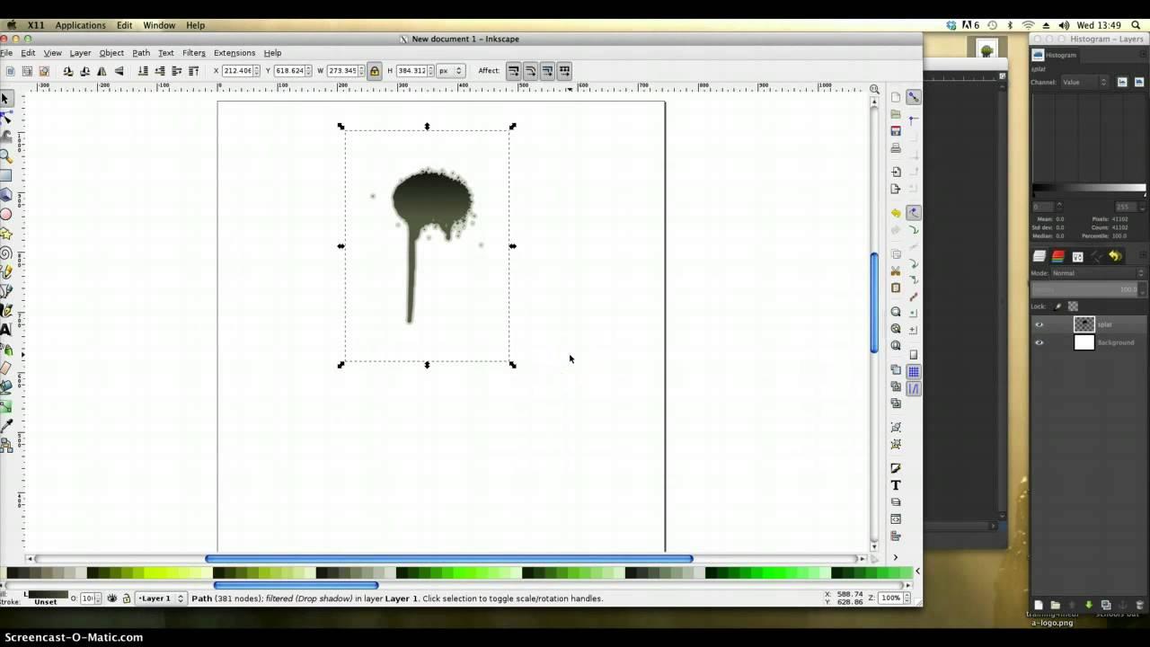 Gimp tutorials logo design