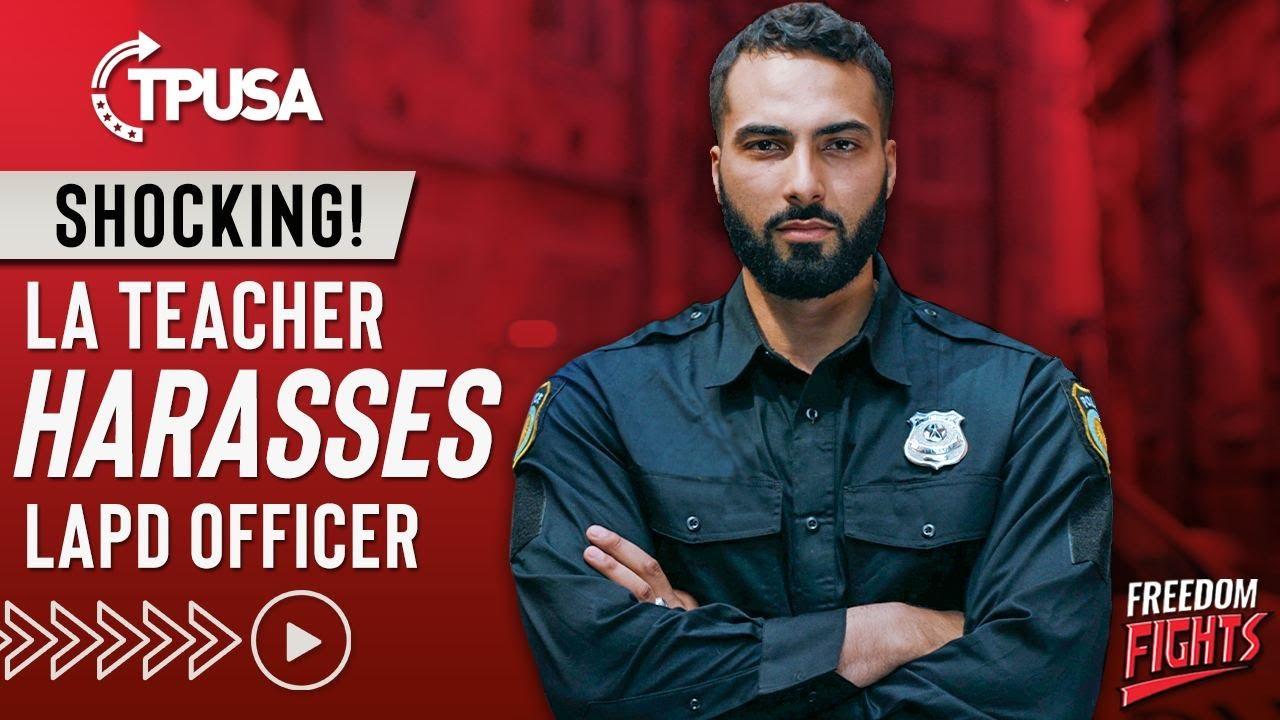 Download SHOCKING! LA Teacher Harasses LAPD Officer
