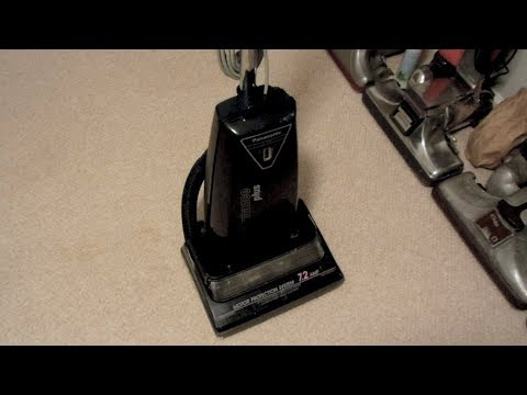 Panasonic Performance Plus Upright Vacuum Cleaner Youtube
