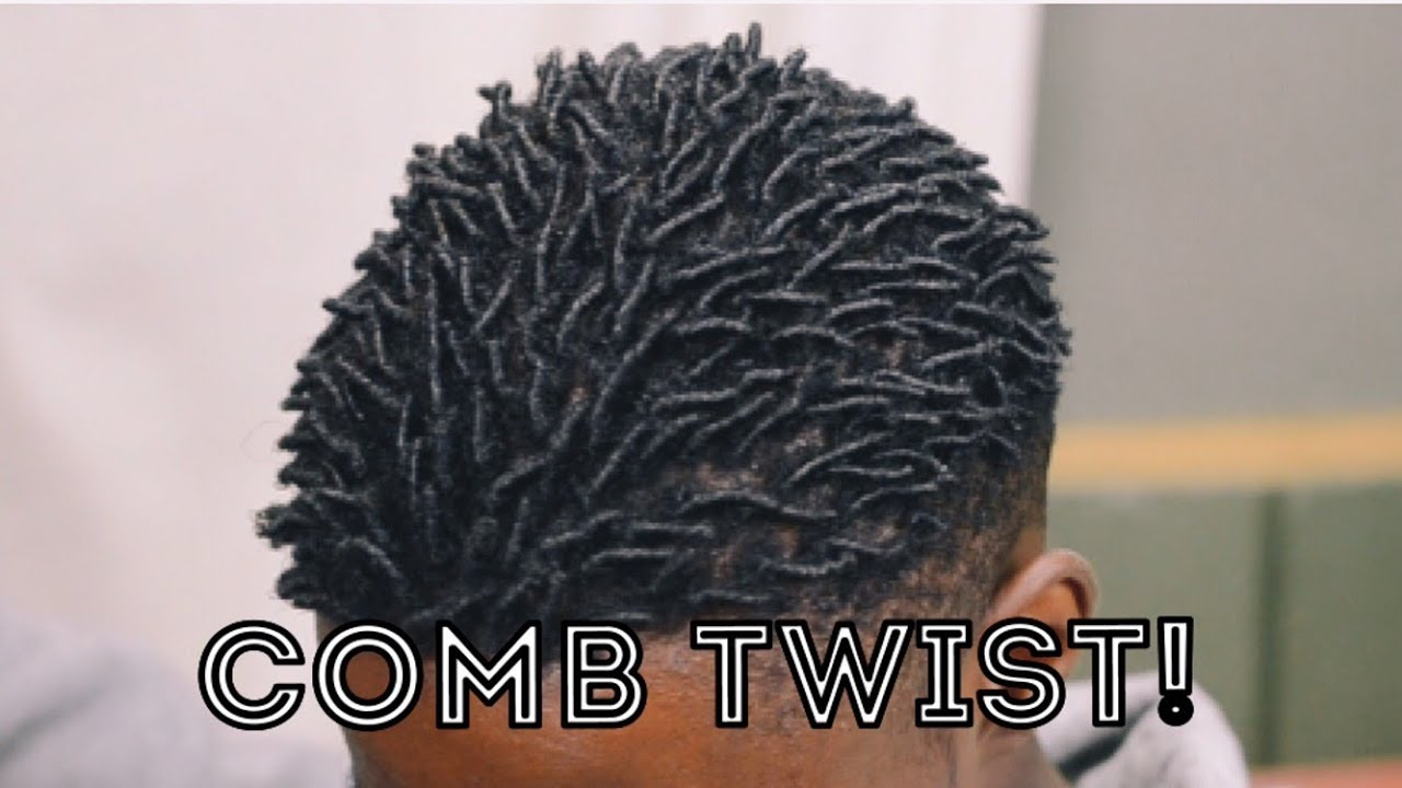 How To Get Twist With Natural Hair Youtube
