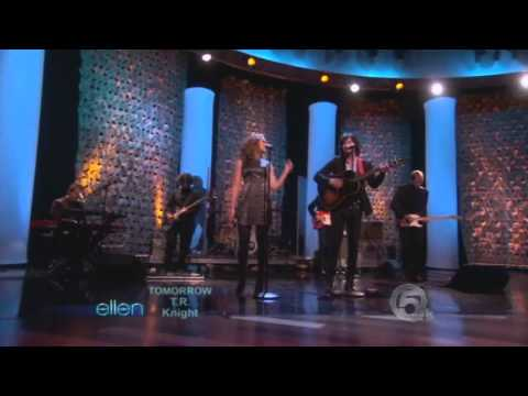 HD Scarlett Johansson   Pete Yorn   Relator Live At Ellen Show 10 12 2009