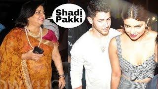 GudNews : Priyanka Chopra and Nick Jonas marriage fixed by mom Madhu on Yesterday's date