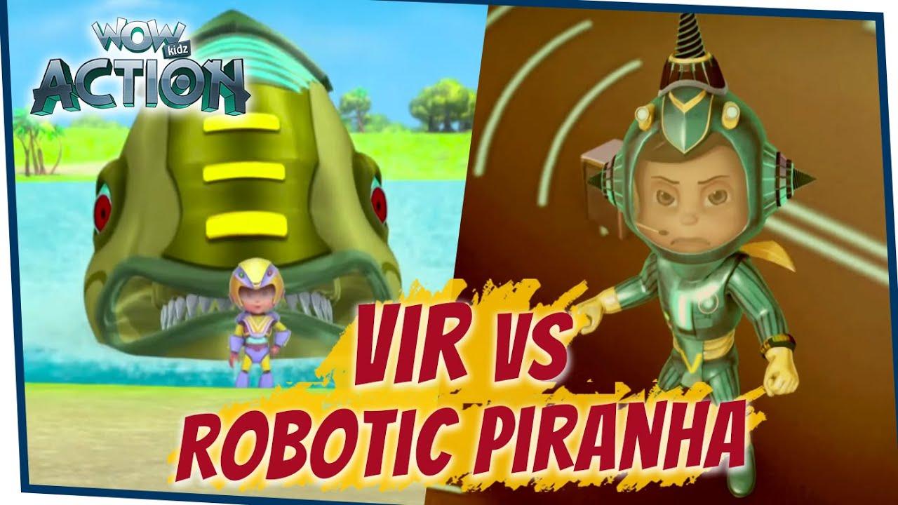 Download VIR: The Robot Boy Cartoon in Hindi- EP76B   Full Episode   Hindi Cartoons For Kids  Wow Kidz Action