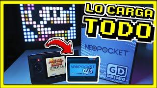 ESTE CARTUCHO DE NEO GEO POCKET ES INCREIBLE - NeoPocket GameDrive Review en Español