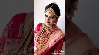 South indian engagement bride