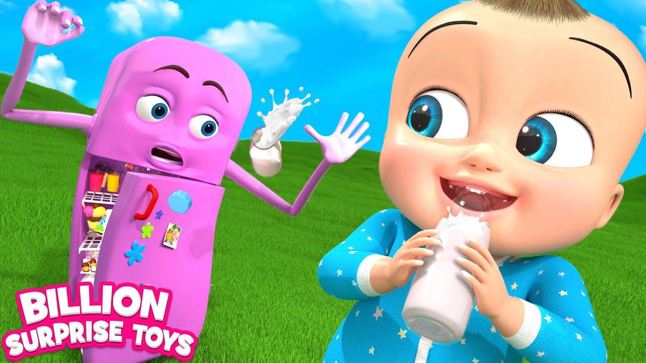 Playtime with Robo Fridge Song   BST Kids Songs & Nursery Rhymes