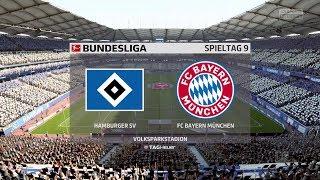 FIFA 18 Bundesliga Prognose | Hamburger SV - FC Bayern München