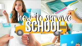 How to Survive School! Tips & Tricks!