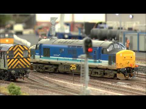The GCR Model Show 2014 - Layouts