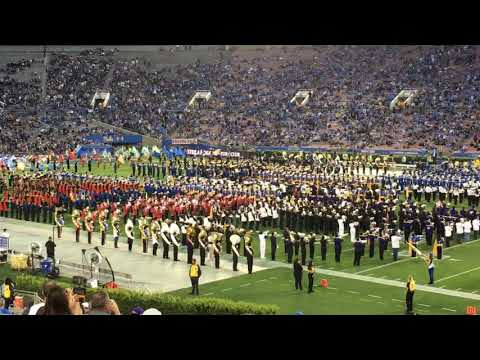 UCLA Band Day, featuring 24 Southern California High School Bands
