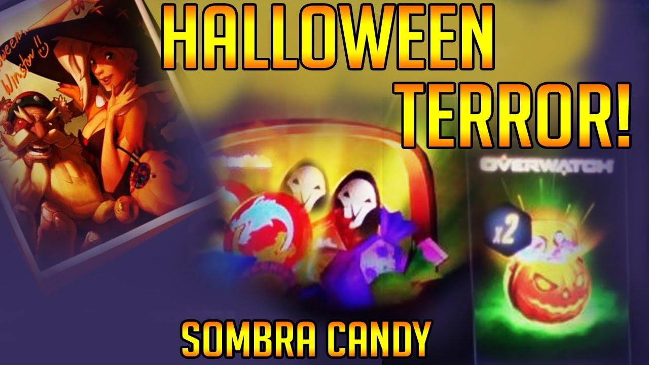 Overwatch News - Halloween Terror Event! Sombra Candy?! Halloween ...