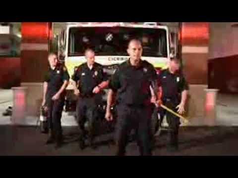 Cicero volunteer firefighters take on Backstreet Boys for Lip Sync Challenge