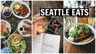 VEGAN in SEATTLE  [ What I Ate ]