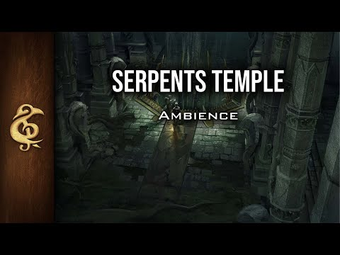 🎧 RPG / D&D Ambience - Serpents Temple | Snakes, Danger, Mystery, Ruins, Treasure
