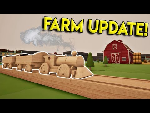 NEW FARM TOWN & HAULING CARGO! - Tracks- The Train Set Game Gameplay- Stunts & Crashes