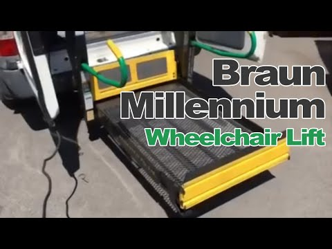Braun millennium wheelchair lift Ford Transit