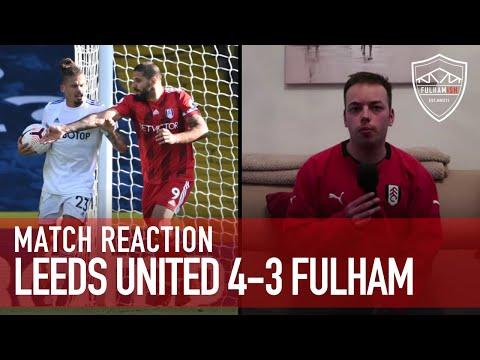 Seven Goal Thriller! | Leeds United 4-3 Fulham | MATCH REACTION