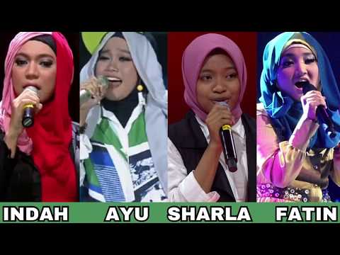 Battle Vocal ( INDAH NEVERTARI / FATIN LUBIS / AYU PUTRISUNDARI & SHARLA )
