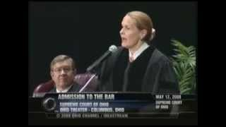 2008 Ohio Admission to the Bar Speech by Justice Stratton