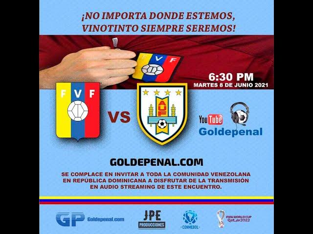Venezuela vs Uruguay | Eliminatorias Sudamericanas Catar 2022 | Tama Stereo