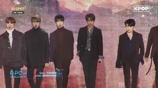 《HOT》 SEVENTEEN - THANKS at K-Pop World Festa #PyeongChang2018