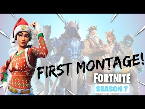 My First Montage! Fortnite Battle Royale