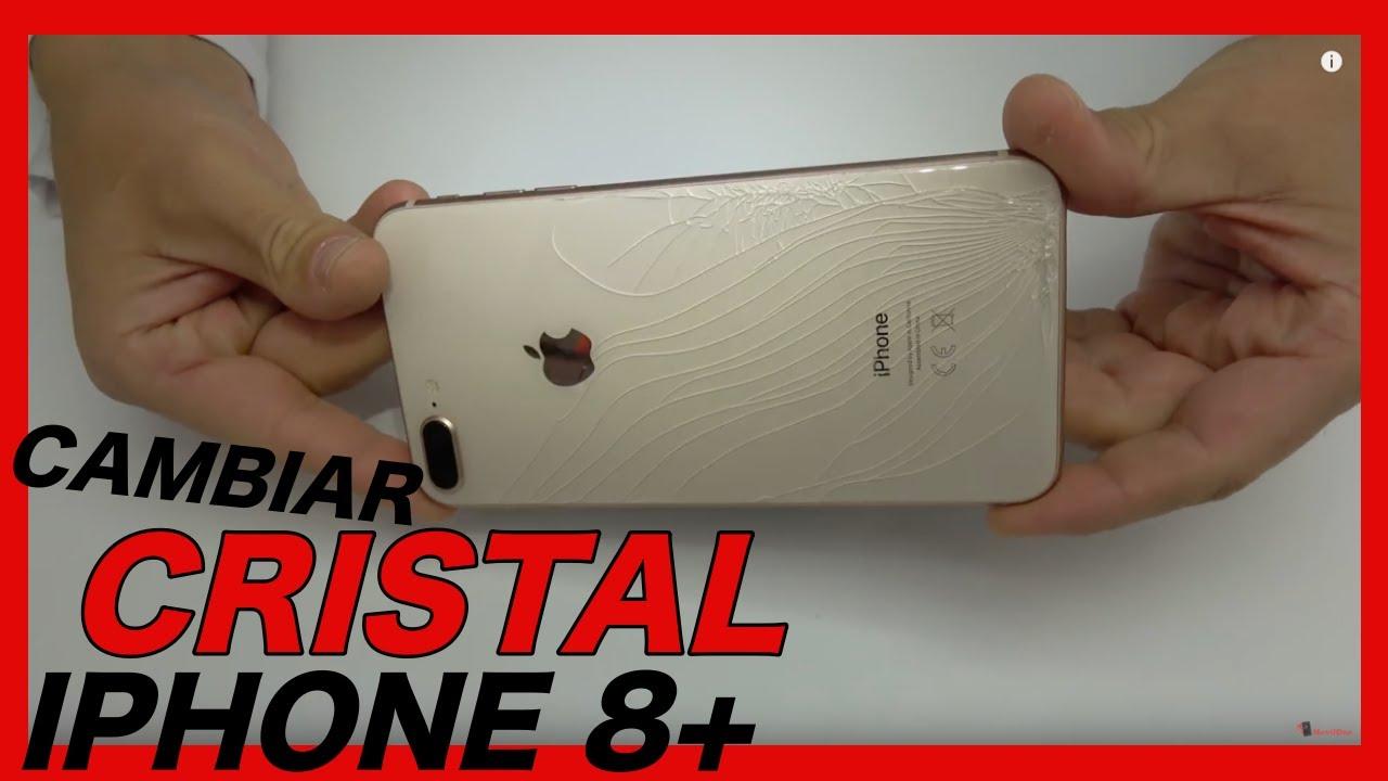 8d86e2c9745 REPARACIÓN IPHONE 8 PLUS CAMBIAR TAPA CRISTAL - YouTube