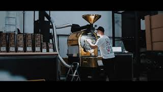 Coffee roasting plant | How to make a good coffee | cinematic video by Aleksander Soroka