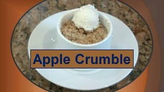 Apple Crumble -  Betty's Special Baked Dessert