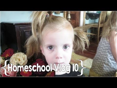 Everyone's Sick and Claudia Hates Her Hair ║ Hang Out with This Homeschool Mom of 8 │ School Week 10